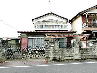 栃木市大平町富田 中古 5K 建物外観です。