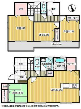 美郷台隣接 成田市 全23棟新築分譲住宅 13 間取り図