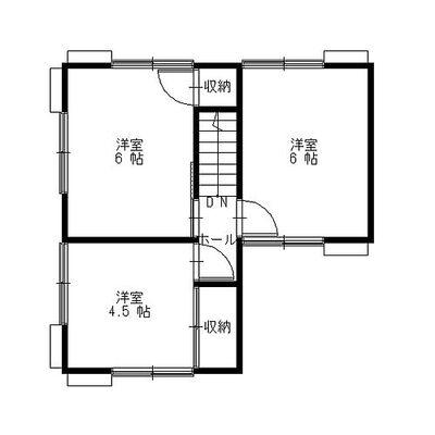 彦根市日夏町リフォーム住宅 2F間取りです。