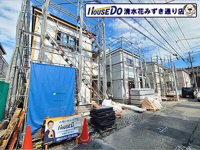 新築戸建 リーブルガーデン清水区長崎南町 2021/9現在の現地の様子です(^O^)/