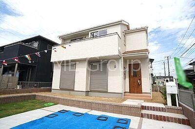 流山市青田 第3 新築一戸建て 全1棟 外観