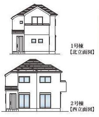八王子市大塚 第1期 新築戸建 イメージ