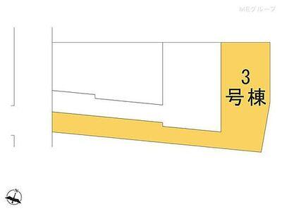 南区松本5期 新築一戸建て 全3棟 3号棟 図面と異なる場合は現況を優先