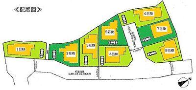 リナージュ  大津市唐崎 IDK 区画図です