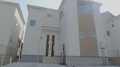 地震に強い家 新築戸建 川口市安行吉岡8期 堂々とそびえる外観