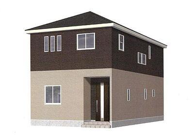 二本松市上平内第4 全2棟 2号棟 完成予想図 当日、平日のご案内も可能です。お気軽にお問合せ下さいませ。