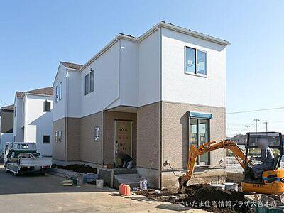 新築一戸建 上尾市壱丁目7期 全3棟 1号棟 外観写真です。