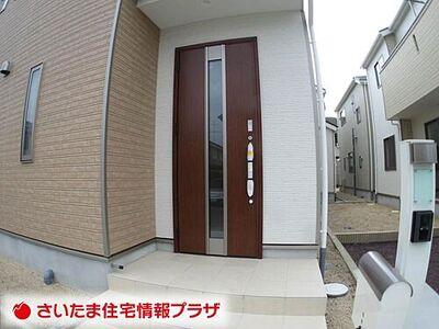 新築一戸建 さいたま市岩槻区岩槻第7 全4棟 2号棟5 外観写真です。