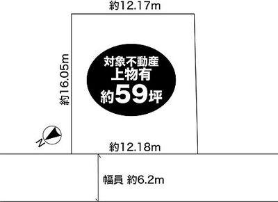 神野町石守 戸建 区画図