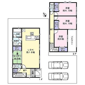 忠岡町高月北第4 1号棟 新築戸建 ファミリー様向け3LDK+畳コーナー