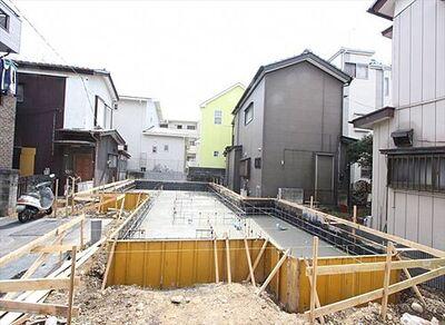 富士見市関沢3丁目 新築一戸建住宅 全1棟 販売現地/2021年3月5日撮影