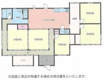 香取郡多古町 間取図