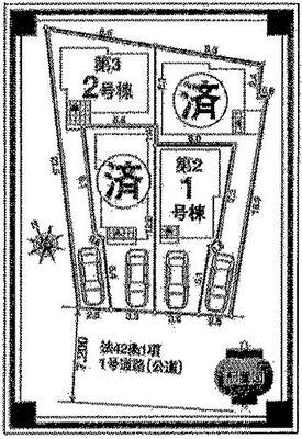 川口元郷第3 1号棟 全4棟。