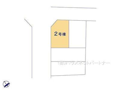 さいたま市大宮区三橋 全4棟 2号棟 区画図