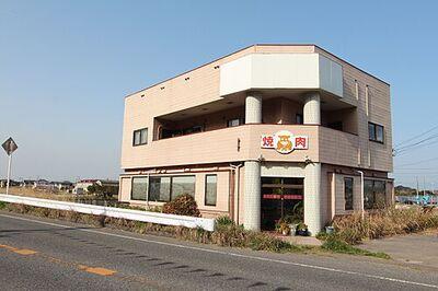 国道沿いの元飲食店店舗の中古住宅 外観