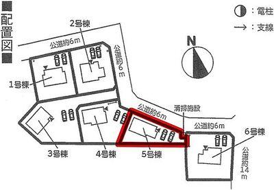 Cradlegarden 茨城町桜の郷 第3-5 5号棟、4LDK