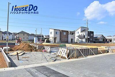 中区和合町 4期 1号棟 2月8日撮影 2021年5月完成予定です!