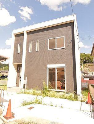 レインボータウン松原 戸建 おしゃれな外観のデザイン住宅です。