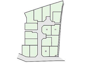 「鶴ケ峰」駅徒歩8分 新築一戸建て(12) 全16区画の分譲 区画図:1区画図: