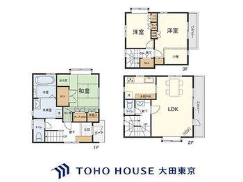 川崎区桜本1丁目 中古戸建 3LDK、土地面積53.39m2、建物面積84.59m2