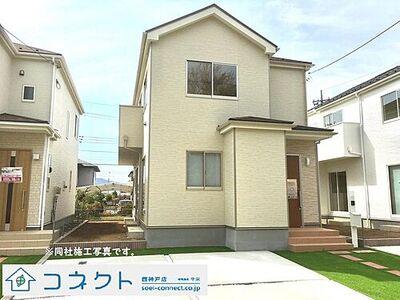 神戸市西区天が岡 新築戸建 2区画 同社施工写真です。
