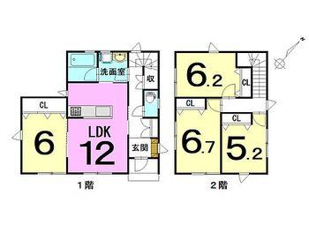 大字西豊田2丁目 新築戸建 4LDK新築です。ご見学もできますので、お気軽にお問い合わせください。