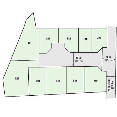 今週末モデルハウス見学会開催中「南太田」駅徒歩8分 新築一 区画図:1区画図: