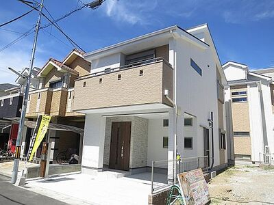 東大阪市金岡3丁目 新築一戸建て A号地 近隣に生活施設の充実した2階建てのお家です