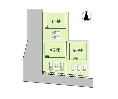 姫路市勝原区丁 新築3棟販売中です。