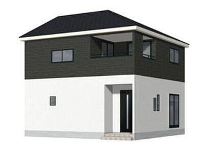 クレイドルガーデン北条町第1 1号棟 1号棟 建物完成イメージ。2021年1月完成予定です。完成した同タイプの建物をご内見いただけます。お問合せお待ちしております。