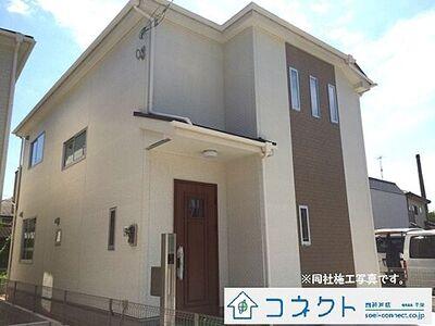 神戸市西区宮下1丁目(宮下2期) 2区画新築戸建 同社施工写真になります。