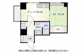 ホクリククレステートホ和倉 1DK、価格180万円、専有面積36.08m<sup>2</sup>