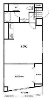 シティハイツ阿佐ヶ谷 最上階、北東南の3方角部屋につき陽当たり・眺望良好。室内は新規フルリフォーム済みです。