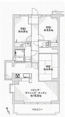 クリオ藤沢伍番館 3F