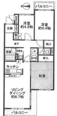 モンシャトー宮前平 67.70?・3LDK・1990万円