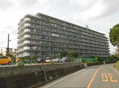 六高台サンハイツA棟 9階建の3階部分