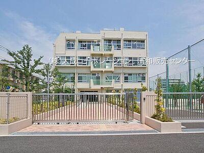 コスモ小豆沢公園 周辺環境:中学校 450m 志村第二中学校