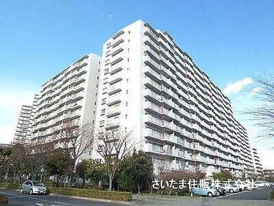 パークフィールドみさと 4街区2号館 141世帯のビッグコミュニティ。管理体制良好のマンションです。