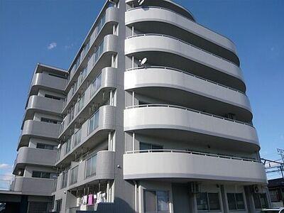 トリーハイツ矢作壱番館 6階建ての5階に位置する角部屋のご案内です
