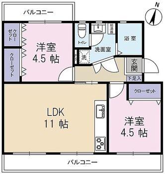 笠幡グリーンパーク 2LDK