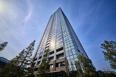 シティタワーズ豊洲ザ・ツインS棟 壮大なツインタワーを実現した、「鹿島建設」×「日建設計」のコラボレーション。