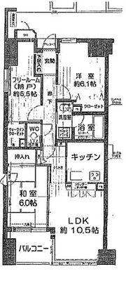 イトーピア長堀橋シエル・クレール 納戸付き・対面キッチン