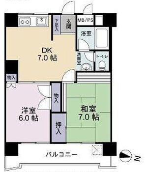 川越フラワーホーム 豊かなパノラマ空間を楽しめる10階お部屋