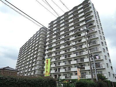 中古マンション 土浦市東崎町 ホーユウパレスC棟 6階部分 14階建ての6階部分で眺望が良いバルコニー南東向きのマンションです。