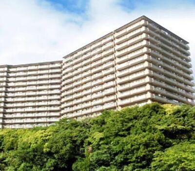 アイビーヒルズ久里浜弐番館 3階角部屋3面バルコニー