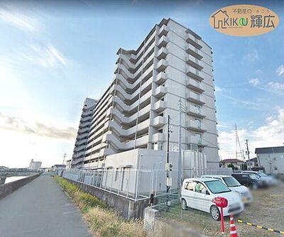 Mプラザ加古川弐番館 2階 南西向き、陽当たり通風良好です。