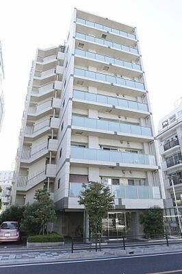 パレ浦和常盤 通勤通学の便利なJR京浜東北線北浦和駅から徒歩3分落ち着いた色合いの9階建て2階部分のお部屋です