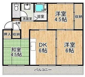 高根台住宅 4階部分