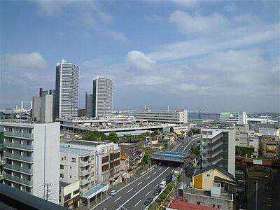 ネオマイム横浜ポートサイド 眺望