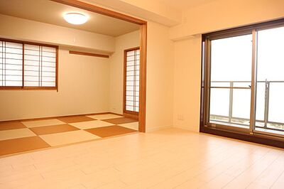 グランリシェス青井 青井駅徒歩13分9階部分につき眺望良好です